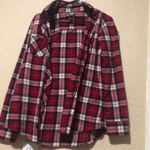 Hot Top Red Flannel